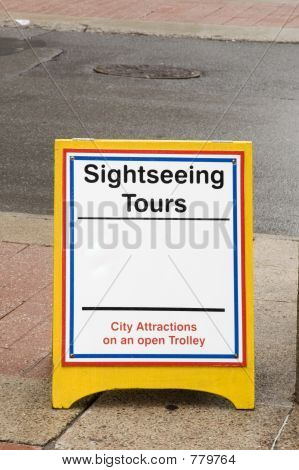 tours sign