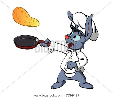 Bunny cooking