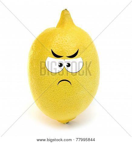 Angry lemon