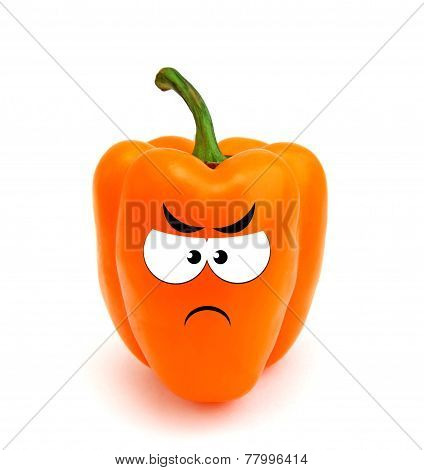Angry sweet pepper