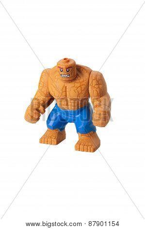The Thing Custom Lego Minifigure