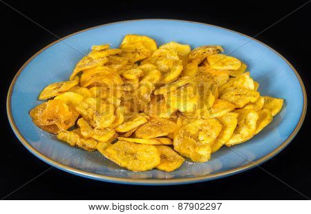 Cuban Cuisine: Green Plantain Chips Or Fries