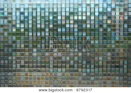 Mosaic Background Glass Pattern