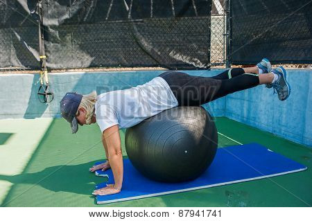 Prone hip extensions