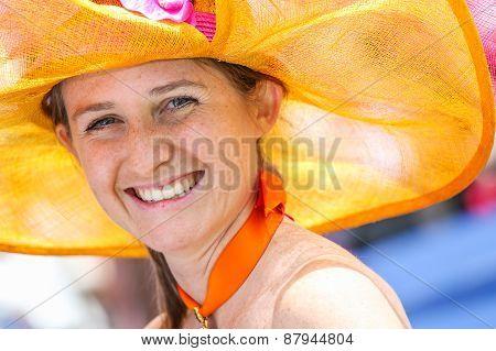 Chantilly - June 15 : Lifestyle At Prix De Diane In Racecourse, Near Paris On June 15, 2014, France.
