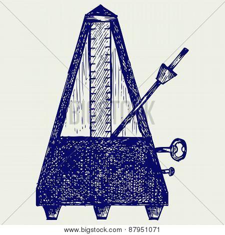 Musical metronome