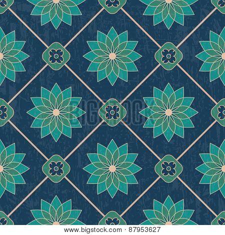 Textured ornamental pattern
