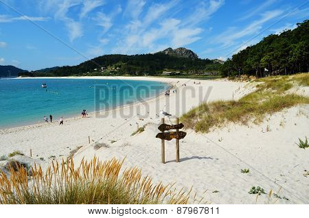 Rodas beach (Cies Islands, Galicia, Spain)