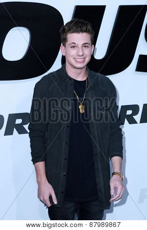 LOS ANGELES - FEB 1:  Charlie Puth at the
