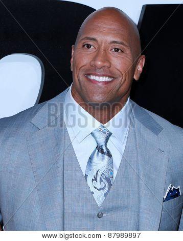 LOS ANGELES - FEB 1:  Dwayne Johnson at the