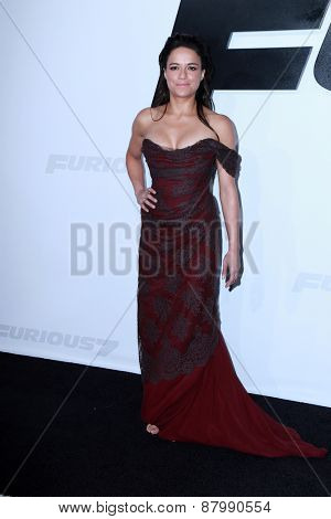LOS ANGELES - FEB 1:  Michelle Rodriguez at the