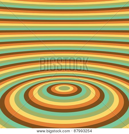 Abstract swirl background. Pattern with optical illusion. Vector illustration.   poster