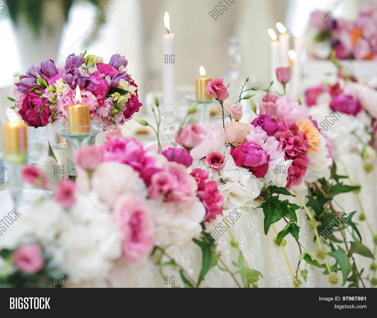 Wedding Decoration On Image Photo Free Trial Bigstock