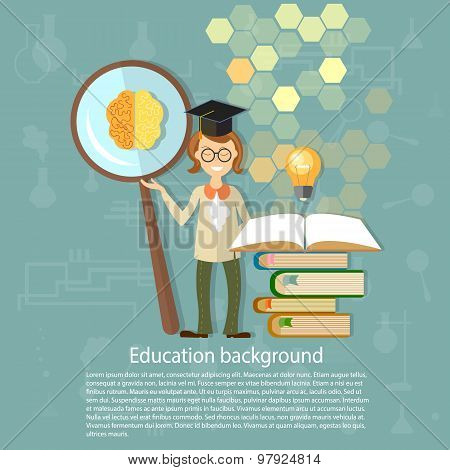 Science And Education: Students, Professors, Power, Brain, Education, Ideas, An Open Book, Knowledge
