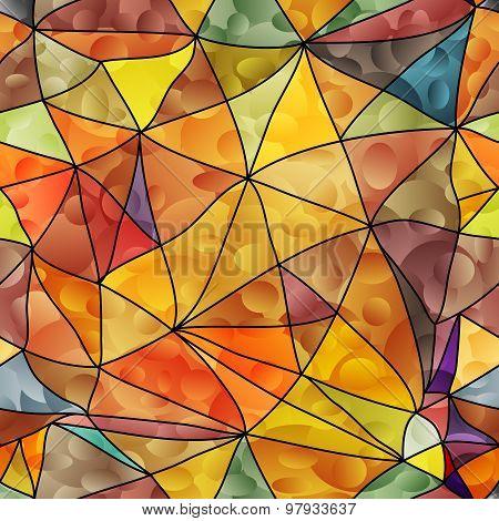Geometric Seamless Background.