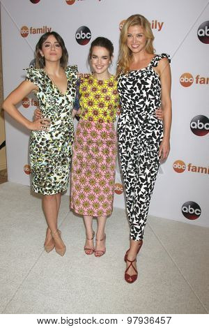 LOS ANGELES - AUG 4:  Chloe Bennet, Elizabeth Henstridge, Adrianne Palicki at the ABC TCA Summer Press Tour 2015 Party at the Beverly Hilton Hotel on August 4, 2015 in Beverly Hills, CA