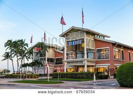 View Of Miami Marina And Bayside Marketplace