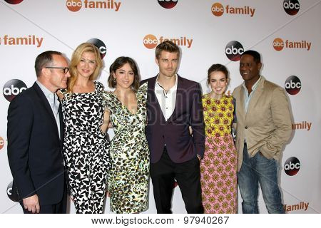 LOS ANGELES - AUG 4:  Clark Gregg, Adrianne Palicki, Chloe Bennet, Elizabeth Henstridge at the ABC TCA Summer Press Tour 2015 Party at the Beverly Hilton Hotel on August 4, 2015 in Beverly Hills, CA