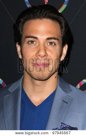 LOS ANGELES - JUL 31: Apolo Ohno at the Special Inaugural Dance Challenge at the Wallis Annenberg Center For The Performing Arts on July 31, 2015 in Beverly Hills, CA