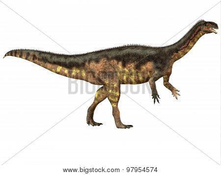 Plateosaurus Side Profile