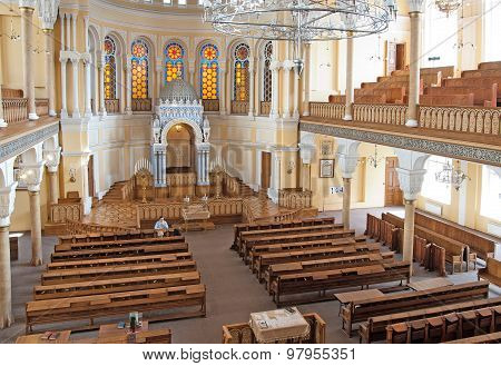 The Grand Choral Synagogue of Saint Petersburg. Russia