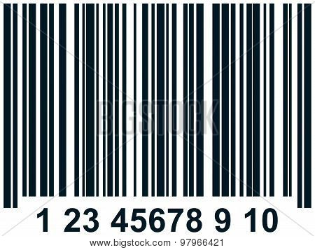 Vector Barcode Illustration