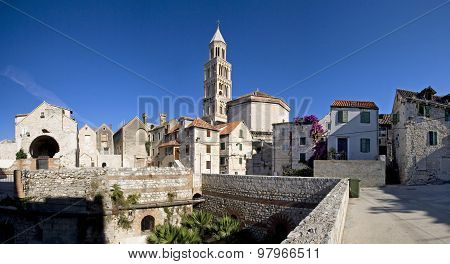 Split, Croatia - Diocletian's Palace, southeastern view
