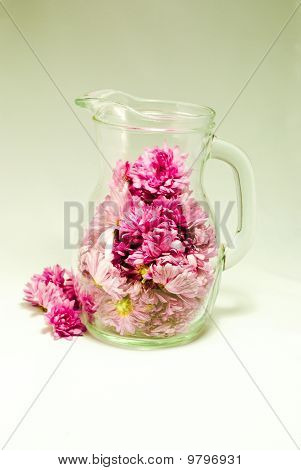 Big Cup With Flowers