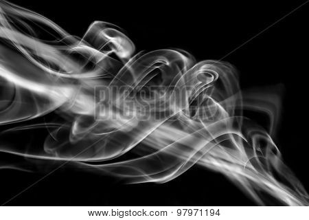Smoke Plume Abstract