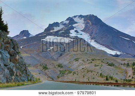 Mountains abound