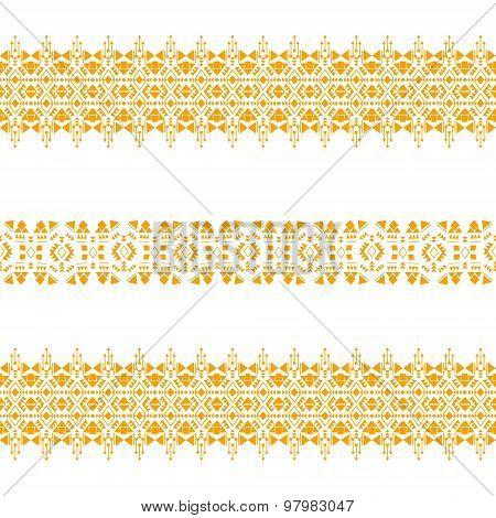tribalseamlesspatterngold