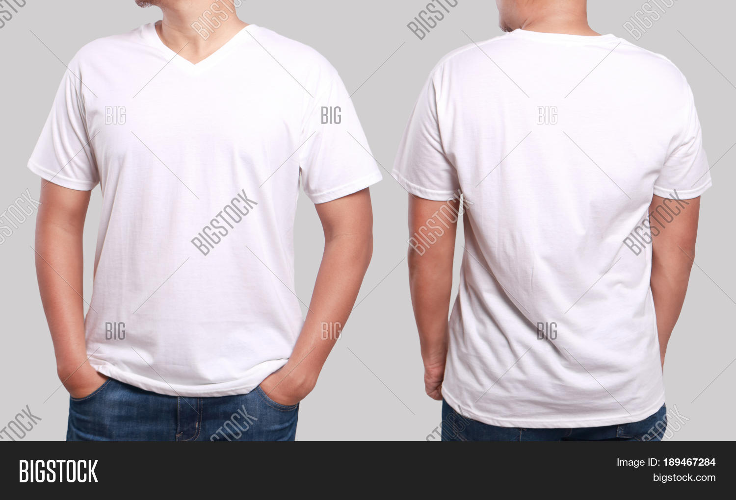 White T Shirt Mock Image Photo Free Trial Bigstock