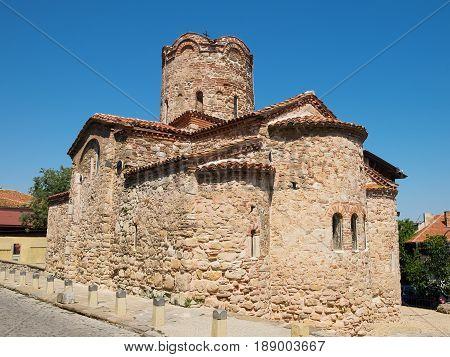 Church of Saint John the Baptist in old town of Nessebar Bulgaria