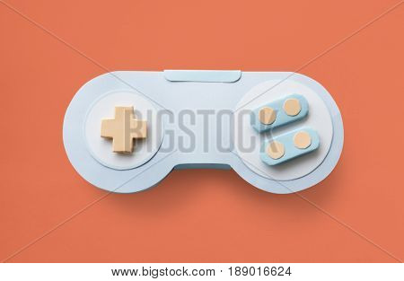 Game Controller Analog Videogame Entertainment