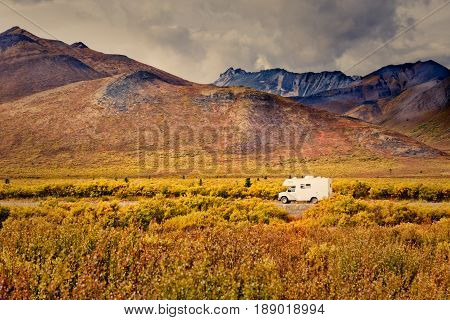 Dempster Highway Adventure Yukon Territory Canada