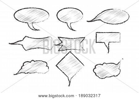 Clouds Of Thought. Illustration For Your Design