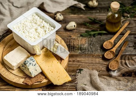 Different Types Of Cheese Composition