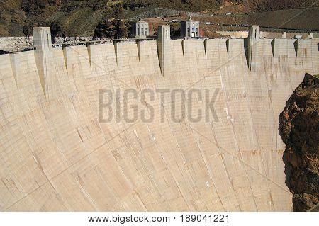 Powerful, Majestic Bolder Dam in Henderson NV