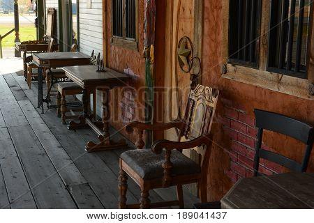 Authentic Old West motel on HWY 2 Washington State