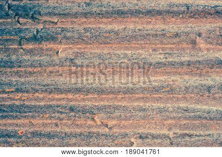 Rusty corrugated metal wall rusty Zinc grunge style background