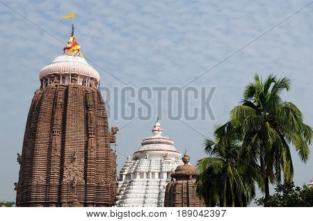 Jagannath Temple in Puri, 12th Century AD, Orissa, India