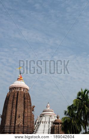 Jagannath Temple in Puri 12th Century AD Orissa India