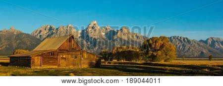 Moulton Barn in Grand Teton NP, Jackson Hole WY
