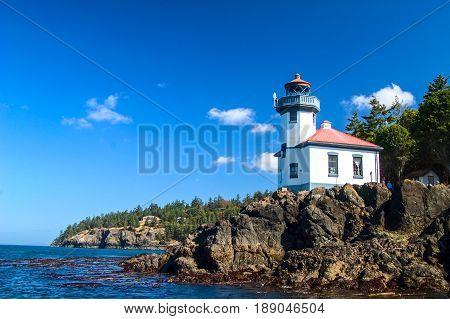 Lime Kiln Point Lighthouse Haro Straight WA