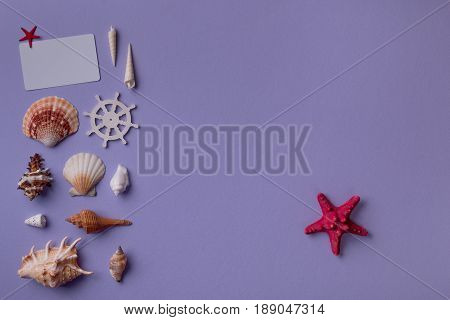 Gift Card With Red Sea Star