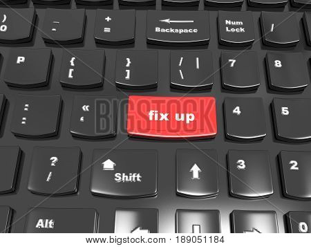 Button on the keyboard - to fix up, fix it - the help concept in addressing the problems and challenges