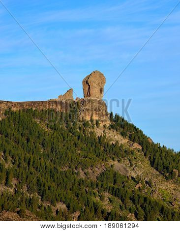 Natural reserve of the Roque Nublo, Gran canaria, Canary islands