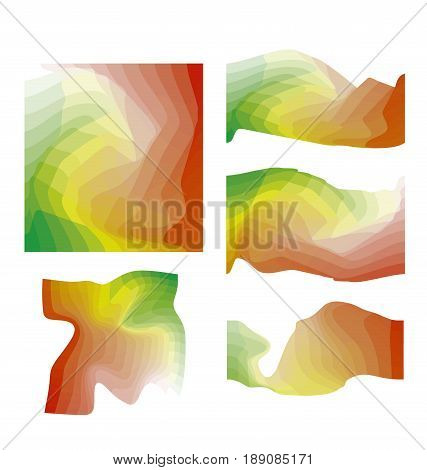 abstract color design element vector illustration. colorful geometric dynamic composition for header. card, cover, print and web projects
