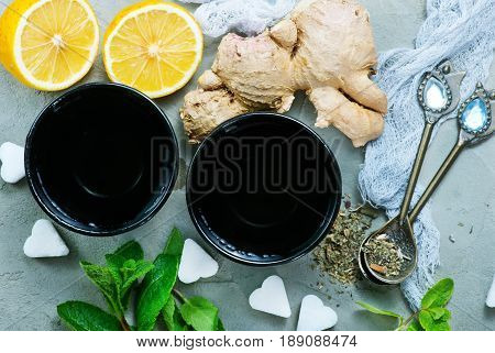Ingredients For Tea