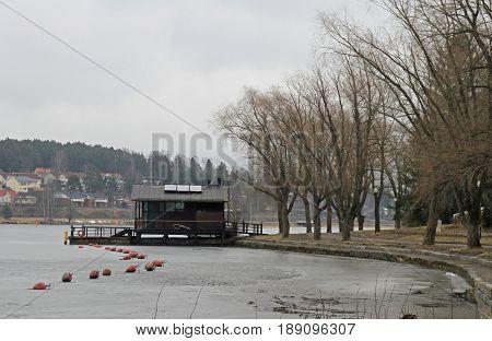 Lakeside Of Vanajavesi In Hameenlinna